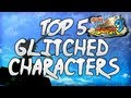 Naruto Ultimate Ninja Storm 3: Top 5 Glitched Characters [w/ Commentary]