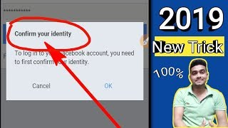 Confirm your identity Facebook problem 2019 || Facebook identity problem | Meher Technology