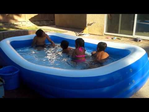 Own swimming pool likod sa new house
