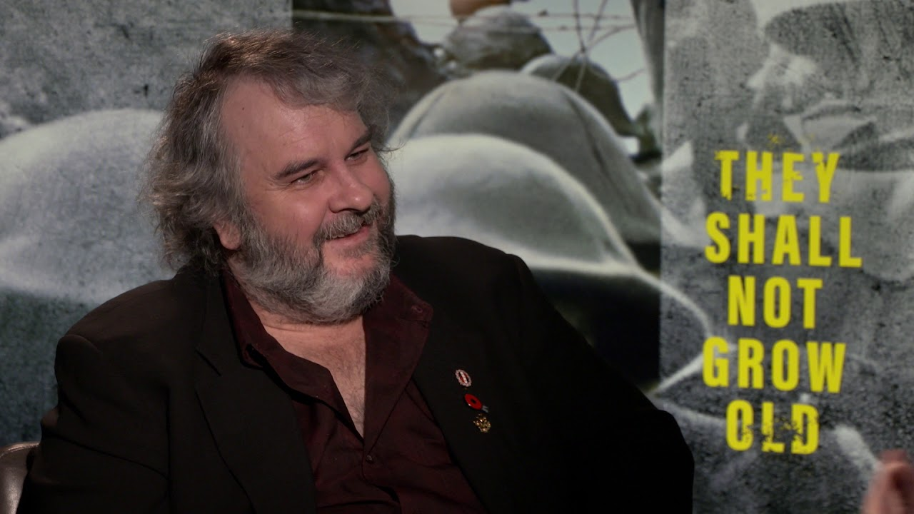 Download THEY SHALL NOT GROW OLD - Peter Jackson interview about his revolutionary WW1 documentary