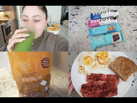 GREEN JUICE, NEW PROTEIN BARS, FAV BREADS I EAT & COOKING BREAKFAST