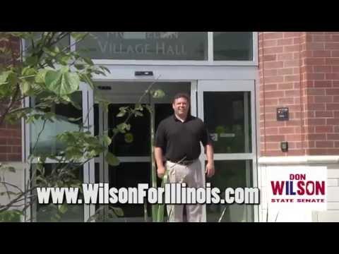Vote Don Wilson for Illinois State Senate seat, 30th district