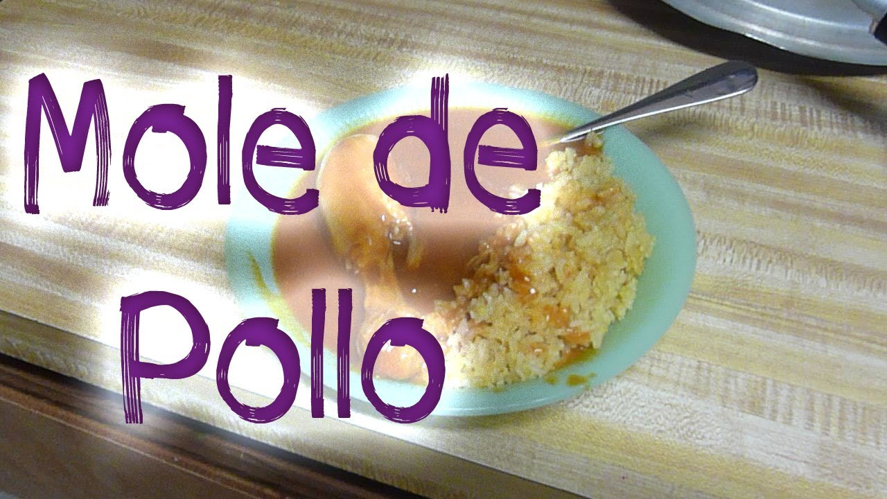 Como cocinar mole de pollo youtube for Como cocinar pollo