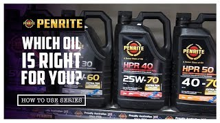 Which Penrite Oil is the Right Oil for your Vehicle