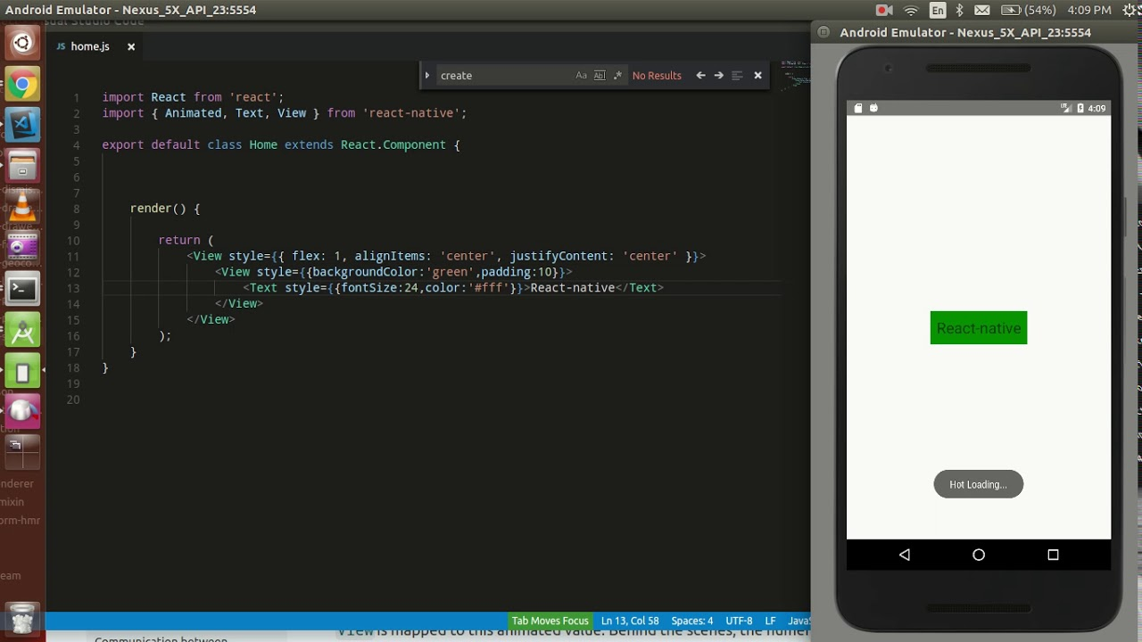 React-Native tutorial # 35 animation with View | fading effect