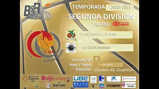 COCEMFE CS BSR  vs CLUB ESPORTIU COSTA DAURADA
