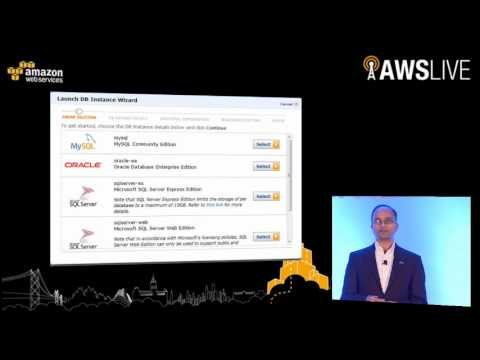 AWS Summit 2012 | India - DynamoDB & Relational Database Services Deep Dive - Sundar Raghavan