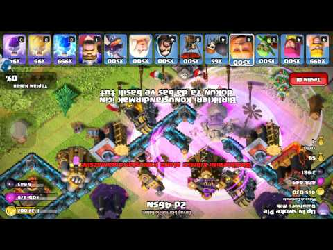 Unlimited Troops!!! Clash Of Clans Sandbox Attacks
