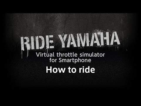 Ride YAMAHA [Smartphone app] How to Ride