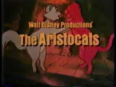 The Aristocats TV Trailer 1980 - YouTube