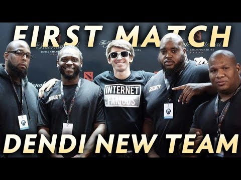 Dendi New Team