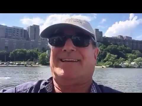 Cruising the Hudson River from NYC to West Point lovethatyacht.com