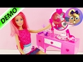 Barbie Beautician Chair with Mirror and Styling Table | Brush and Makeup included!