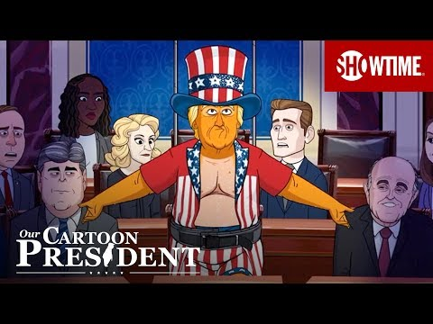 Our Cartoon President Season 3 (2020) Teaser Trailer | Stephen Colbert SHOWTIME Series