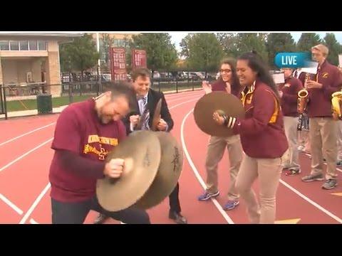 "GOTW: Loyola Academy Marching Band ""Hey Baby"""