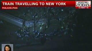 Amtrak Train Derails In Philadelphia, Five Presumably Dead