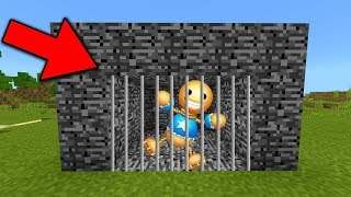 WE TRAPPED KICK THE BUDDY in Minecraft Pocket Edition