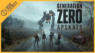 Generation Zero Apskats, jeb kā Avalanche Studios mēgina ieņemt Bethesda Softworks nīšu!