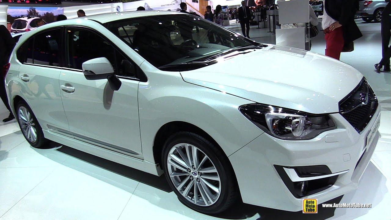 2015 subaru impreza 2.0i awd swiss sport - exterior and interior