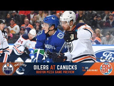 NHL 18 PS4. REGULAR SEASON 2017-2018: Edmonton OILERS VS Vancouver CANUCKS. 10.07.2017. (NBCSN) !