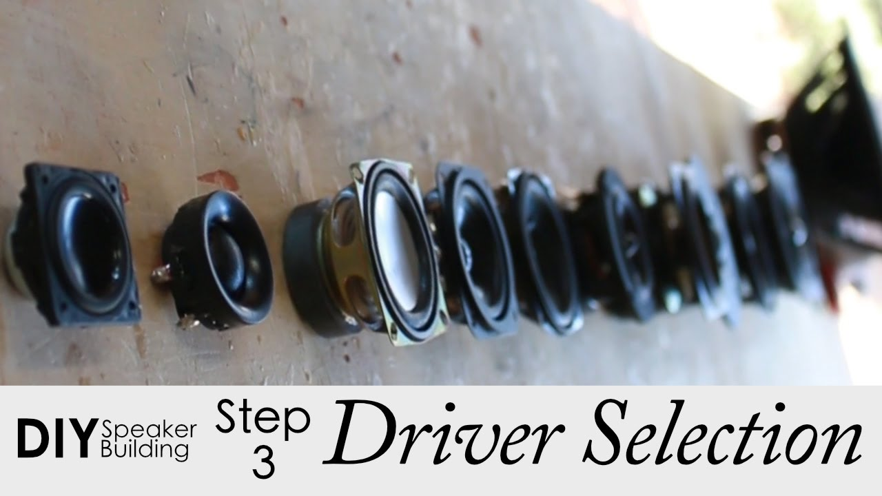 7 Steps To Pick The Best Drivers For Your DIY Speaker ...