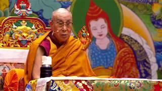 Видеорепортаж. Далай-лама провел буддийские учения в Риге (2018)