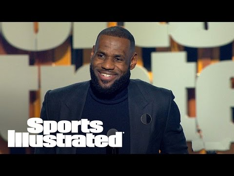 LeBron James Accepts 2016 Sportsperson Of The Year Award | SPOTY 2016 | Sports Illustrated