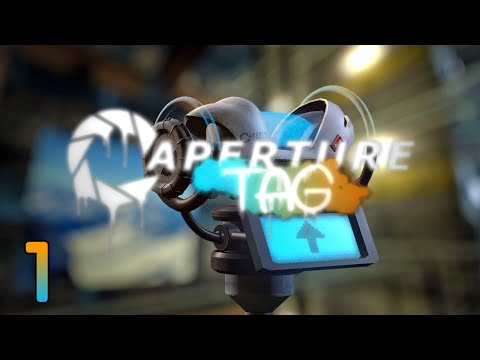 Zagrajmy w Aperture Tag #001 - Aperture Tag