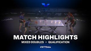 Skachkov /Vorobeva vs Lee /Choi | WTT Star Contender Doha 2021 | XD | Qual