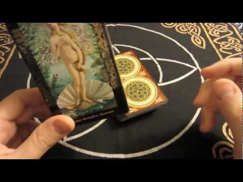 Golden Botticelli Tarot Deck Overlook