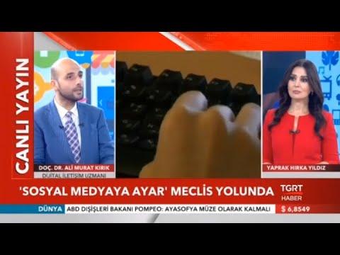 Download TGRT Haber | Doç.Dr.Ali Murat Kırık | Sosyal medya ve Netflix düzenlemesi nedir? Ne zaman çıkacak?