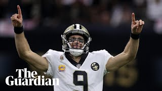 'It was incredible': Drew Brees on becoming NFL's all-time passing leader