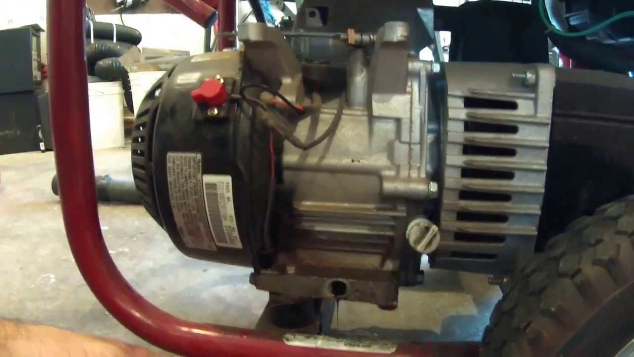hight resolution of how to change oil on coleman powermate generator yearly maintenance tips youtube