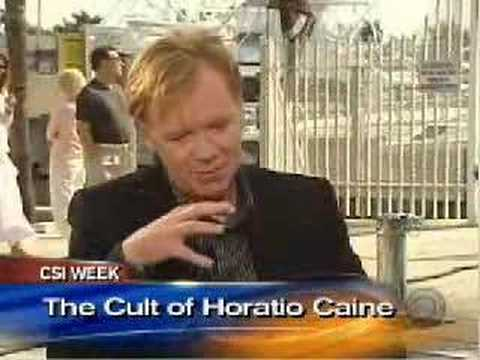 Horatio Caine Impressions done by the cast of CSI Miami