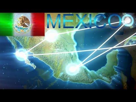 MEXICO - TELMEX, Conectando A Todo El Continente Americano: Cable Submarino AMX-1