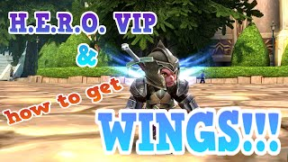 Order & Chaos 2: Redemption- How to get WINGS!!! & the H.E.R.O. System