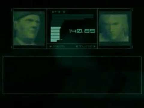 Metal Gear Solid 2 - Colonel Campbell Craziness