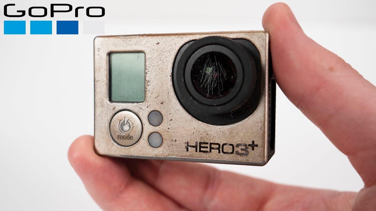 Restoring Broken GoPro Hero 3+ a Subscriber Sent Me - Action Camera Restoration