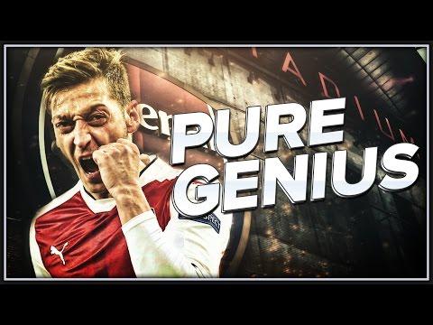 Mesut Özil - Pure Genius - Arsenal FC - 16/2017 (#FootballEditingBrazil2017)