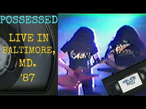 Possessed Live in Baltimore MD 1987 FULL CONCERT