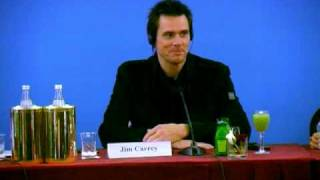 YES MAN - Jim Carrey Zooey Deschanel Peyton Reed PRESS CONFERENCE STAMPA 2 Roma PREMIERE