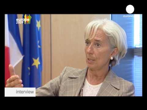 Interview: Christine Lagarde, French Economy Minister