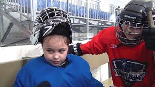 Вместо пуантов – коньки. Вратарь хоккейной команды «Титан-11» – Олеся Ермоленко