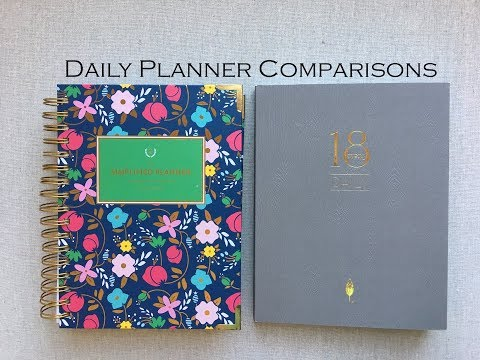 Daily Planner Comparisons | 5 daily Planners |