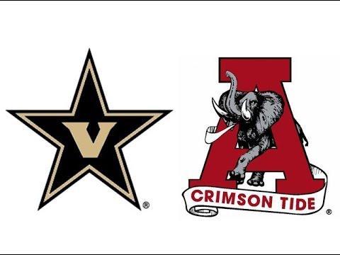 1974 Vanderbilt at #4 Alabama (Highlights)