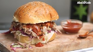 Sugar & Spice Pulled Pork with a Smokey Plum Barbecue Sauce
