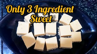 Only 3 Ingredient Sweet Halkova Recipe   80s and 90s kids Favourite Sweet Halkova Recipe