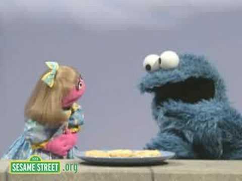 Sesame Street Cookie Questions Prairie Dawn