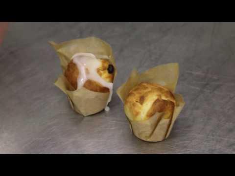 Венгерские пасхальные мини-куличи