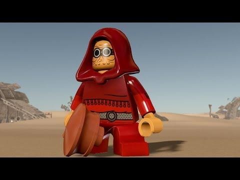 LEGO Star Wars: The Force Awakens - Sudswater Dillifay Glon - Free Roam Gameplay (PC HD) [1080p] - ???